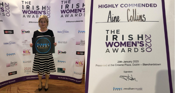 Áine-Collins-commended-at-the-2nd-Irish-Women's-Awards-2020